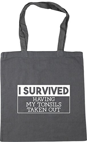 out Grey my 10 Beach Tote Bag x38cm Shopping taken survived Graphite having litres HippoWarehouse tonsils Gym I 42cm 4TwWYqvvF