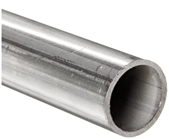 "Stainless Steel 304L Welded Round Tubing, 3/16"" OD, 0.118"" ID, 0.035"" Wall, 36"" Length"