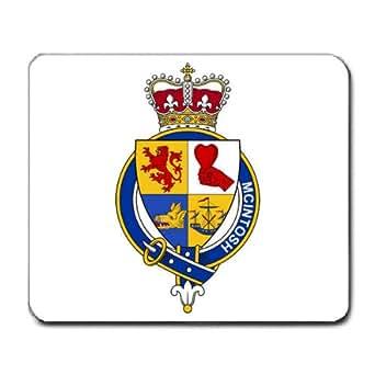 Amazon.com : McIntosh Scotland Family Crest Coat of Arms ...