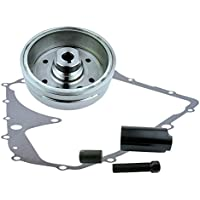 Kit Improved Magneto Flywheel + Flywheel Puller + Gasket...