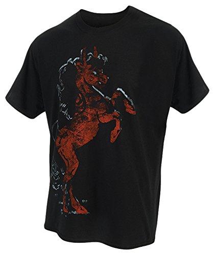 Kilkenny (Bier Short Sleeve Pferd Logo Shirt