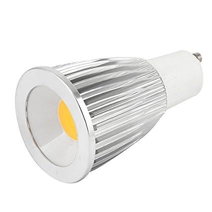 CA 85-265V 12W regulable COB LED Downlight Bombilla E27 luz blanca caliente