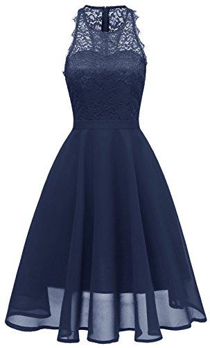 lgante de de Ligne Manches Plage Femme Une Royal de lgant Snone Robe Robe Blue Soire lgante Sans Robe nW6PqZ1S