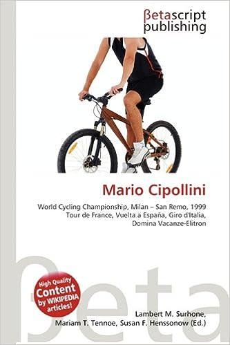Mario Cipollini: Amazon.es: Surhone, Lambert M, Tennoe, Mariam T ...