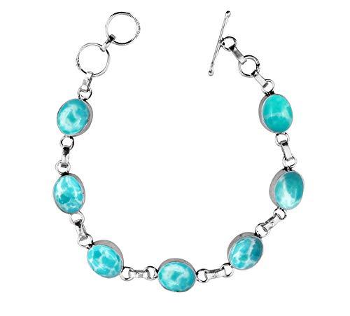 flat gem bracelet - 5