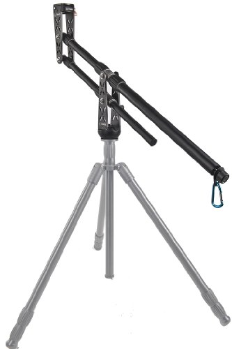 ePhotoInc New Portable DSLR Mini Jib Crane Video Camera Jib Video Jib Arm with 2 QR Plates EA-500A