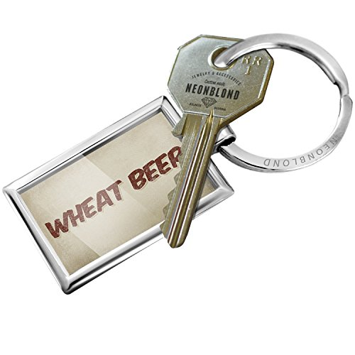 Vintage Wheat Chain - Keychain Wheat Beer, Vintage style - NEONBLOND