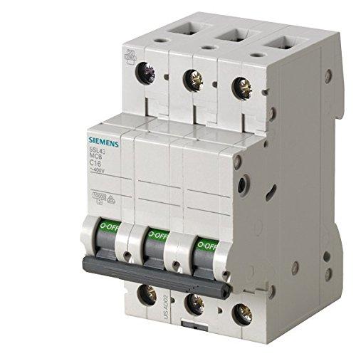 /Leitungsschutzschalter 10/kA curva-b 3-polig 32/A 70/mm Siemens 5sl4/