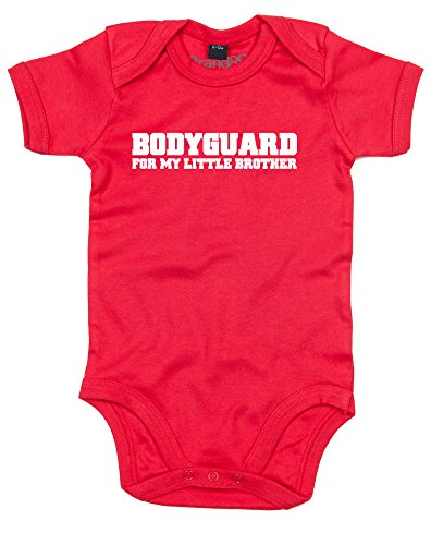 Brand88 Bodyguard For My Little Brother Kids Printed T-Shirt