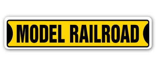 MODEL RAILROAD Street Sign trains scenery railroading layouts hobby | Indoor/Outdoor |  36