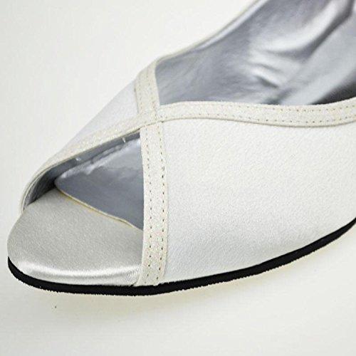 White Sandales 3cm pour Heel Minitoo femme q7xt0wdT8