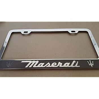 Maserati license plate frame