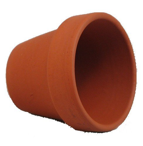 10 Mini 1 3 4 Clay Pots – Great for Plants and Crafts