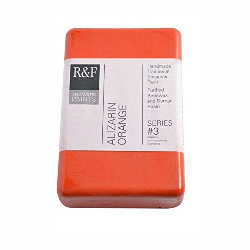 R&F Encaustic 333ml Paint, Alizarin Orange