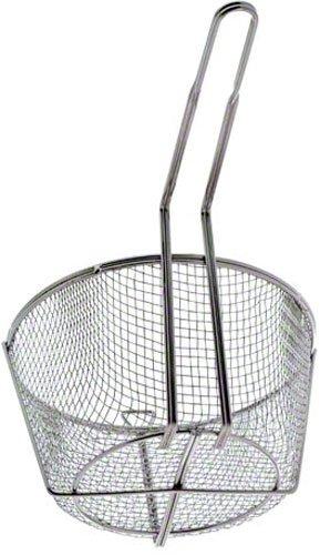 Update International (FB-9) 9 1/2'' Round Wire Fry Basket by Update International (Image #2)