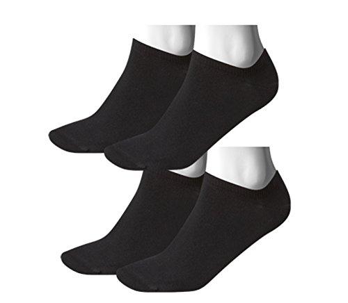 TOMMY HILFIGER Herren Flag Casual Business Sneaker Socken 4er Pack black 200 - 43/46