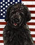 Cheap Goldendoodle Black – Best of Breed Patriotic II Large Flags