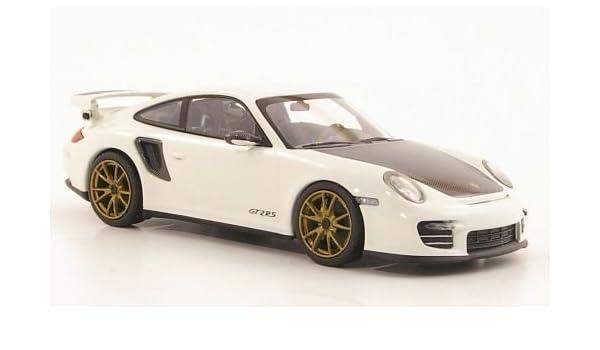 Porsche 911 (997 II) GT2 RS, blanco, dorado aros para llantas , 2010, Modelo de Auto, modello completo, Minichamps 1:43: Minichamps: Amazon.es: Juguetes y ...
