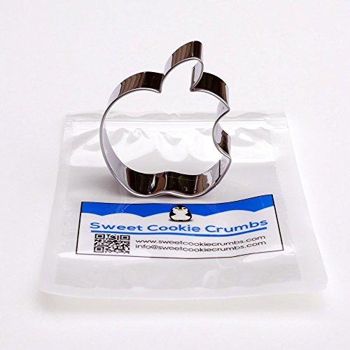 Bitten Apple Cookie Cutter- Stainless Steel