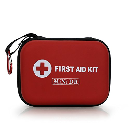MiNi DR - 85 Pieces, Red Semi Hard Case for Emergency