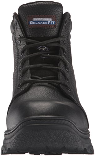 Skechers Work Men's burgin Comp Toe Work Boot Black 2015 new cheap price discount best store to get sale tumblr OJx66MUW