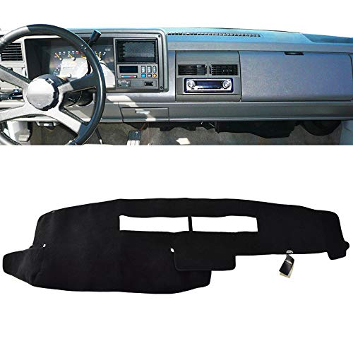 XUKEY Dashboard Cover for Chevrolet Silverado C1500 C2500 C3500 K1500 K2500 K3500 1988-1994 Dash Cover Mat