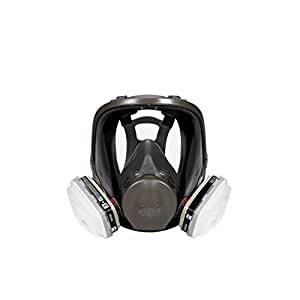 3M Full Face Paint Project Respirator, Medium