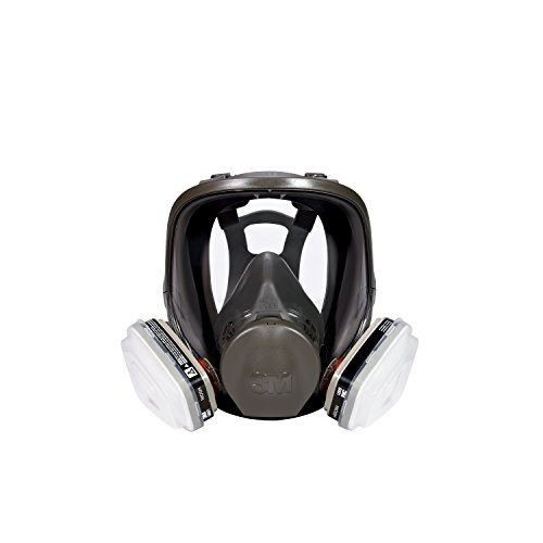 3M Full Face Paint Project Respirator, Medium by 3M