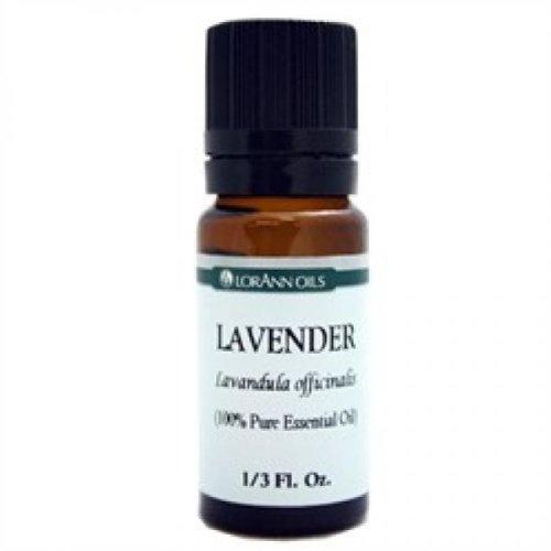 Lorann Lavender Natural 100% Pure Essential Oil Aromatherapy 1/3 Fl. Oz. by LorAnn Oils