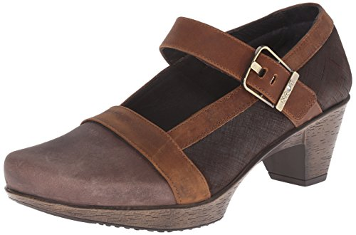Dashing Brown Dress Brown Saddle Naot Pump Leather Brown Leather Haze Mine Leather Women's aqAWBwfU
