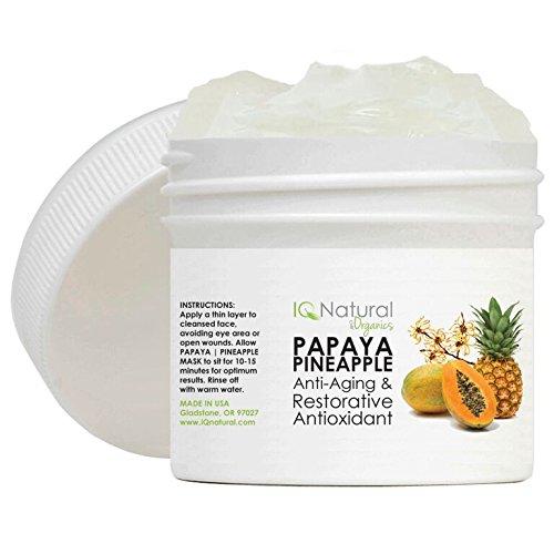 Papaya Pineapple Skin Lightening Brightening Facial Exfoliate Mask Anti Aging 2 Oz Fast Shipping and Ship Worldwide ()