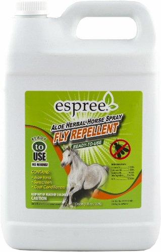 Espree Aloe Herbal Fly Repellent Horse Spray, 1 Gallon
