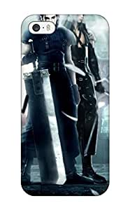 New Style Dan Larkins Hard Case Cover For Iphone 5/5s- Final Fantasy Crisis Core by ruishername