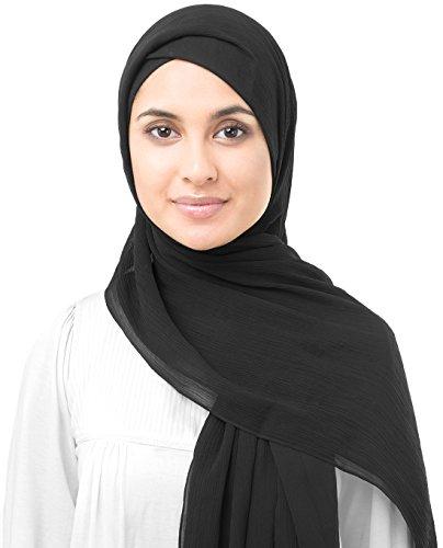 InEssence-New-Poly-Chiffon-Scarf-Ladies-Wrap-Hijab