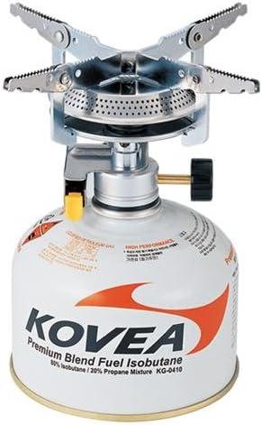 Kovea Hornillo de camping 9Hiker Stove, 6 cm, color plateado ...