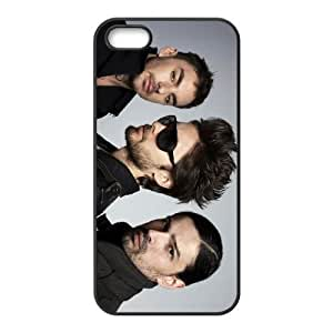 30 seconds to mars band 2 iPhone 4 4s Cell Phone Case Black 53Go-328759