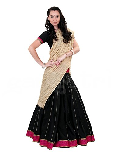 Gopi Dress Cotton Silk Black