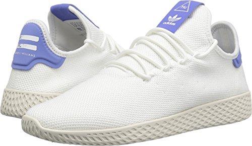 adidas Originals Men's Pw Tennis Hu Running Shoe, White/Chalk, 12 M US