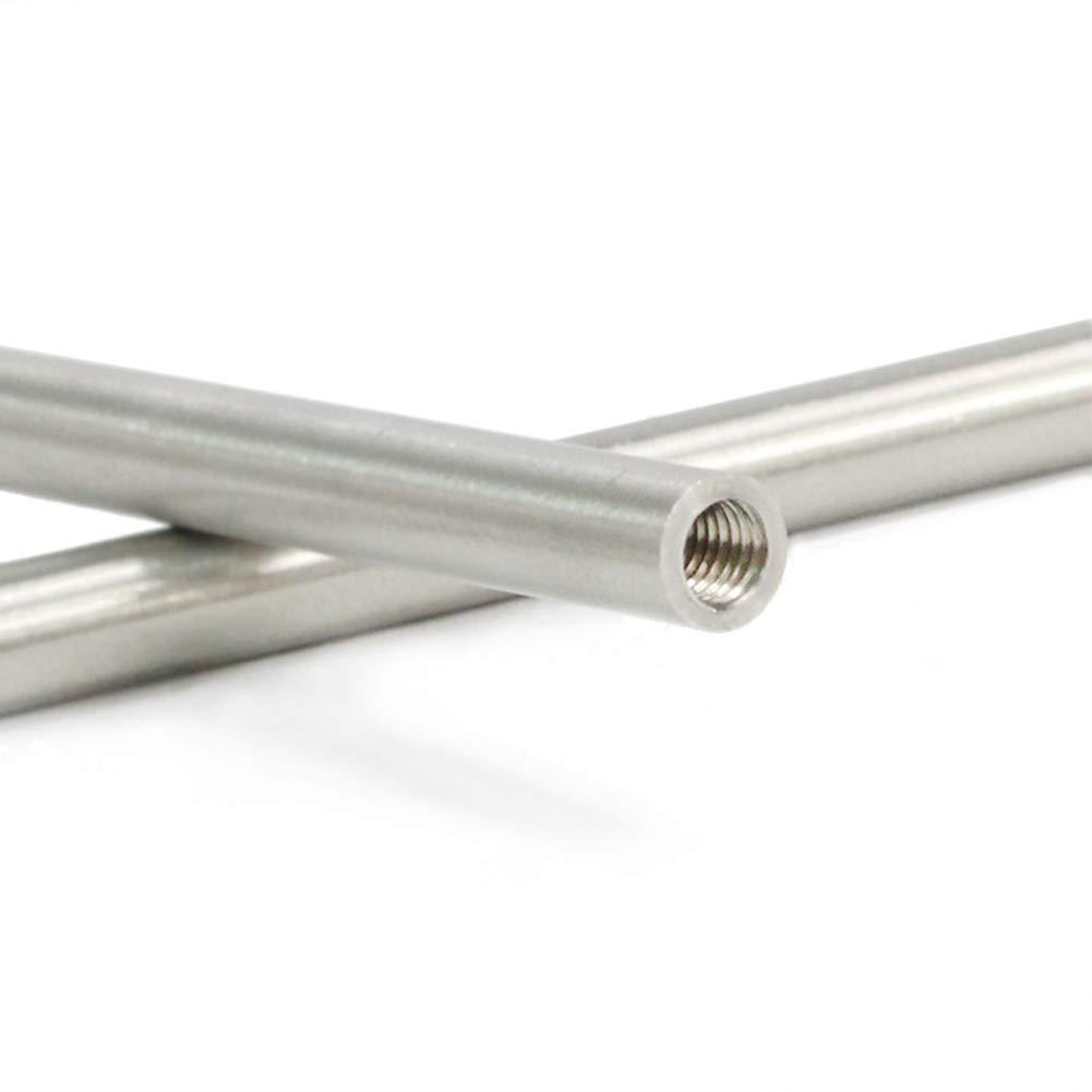 Agujas de paraca/ídas NZNNXN Lin XH 6 unidades, acero inoxidable, para cordones de piel, punzonado, herramienta de alisado