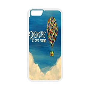 Adventure Is Out There iPhone 6 Plus 5.5 Inch Cell Phone Case White Phone Accessories SH_651988