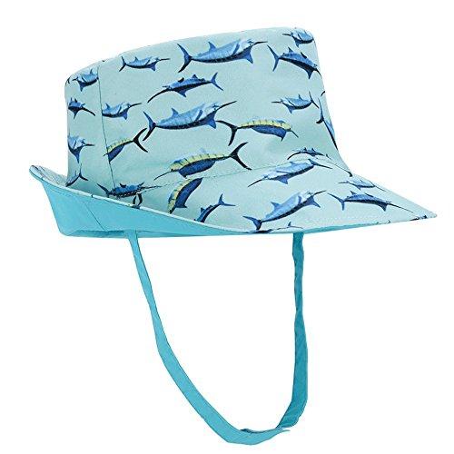 - Hisharry Toddler Hat Baby Kids Boy Girl Bucket Reversible Sun Protection Animal Hat