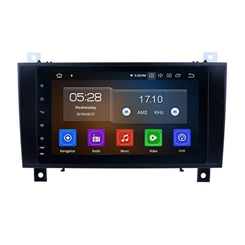 Android 9.0 Double Din Car Radio Android for Mercedes Benz SLK Class R171 SLK200 SLK280 SLK300 2000-2011