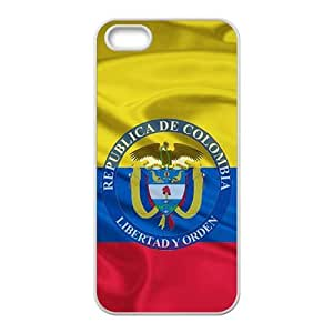 Republica de Colombia libertad y orden Cell Phone Case for iPhone 5S