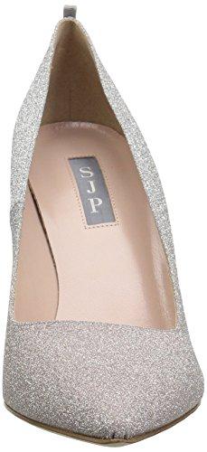 Sjp Af Sarah Jessica Parker Kvinders Fawn Pump Sølv / Lyserød Ombre Glitter nFzJmg