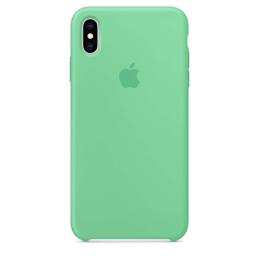 iPhone Xs max Silicone case,Dawsofl Soft Liquid Silicone Case Cover Shell for Apple iPhone Xs max 6.5inch 2018 Release Boxed- Retail Packaging (Spearmint)