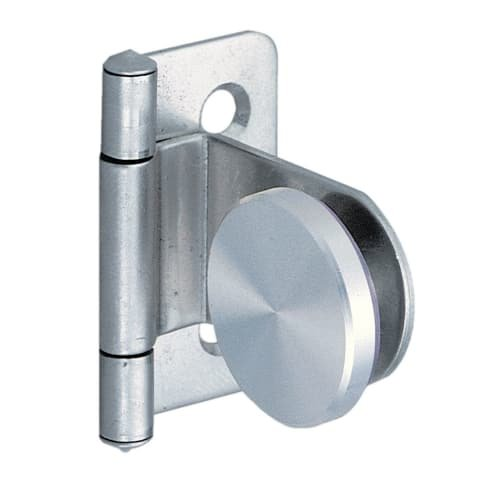- Sugatsune GH-34-0-P Full Inset Screw-On Glass Door Hinge, Stainless Steel