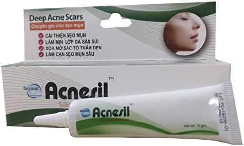 02 Tube10g - GEL TRỊ MỤN ACNESIL - Acne cream Made in ThaiLand
