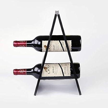 HJXSXHZ366 Estantería de Vino Estante del Vino Bastidores de Vino for Las Botellas, Perfecto for Bar Cava Cueva gabinete despensa Etc Estante de Vino pequeño