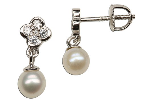 Sterling Silver Earring Cultured Pearl product image