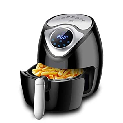 Amazon.com: QIN.J.FANG Air Fryer, Household Intelligent Touch Screen Electric Fryer Without Oil Fume And Large Capacity Potato Frying Machine Factory,White: ...